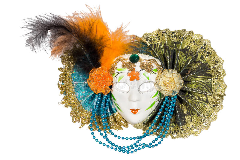 Carnival mask royalty free stock photography