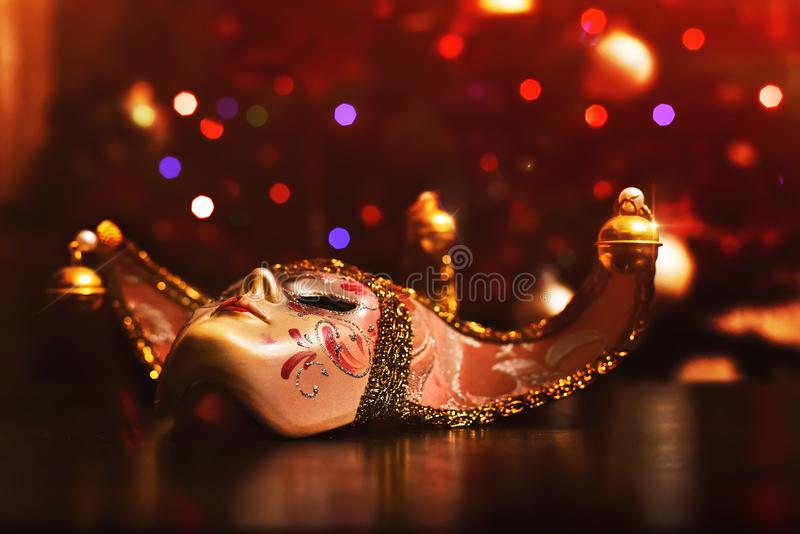 Carnival Mask. Festive mood high day Carnival atmosphere stock photography