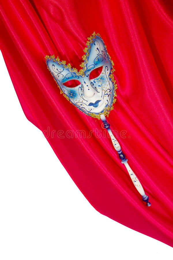 Carnival mask and fun stock photography