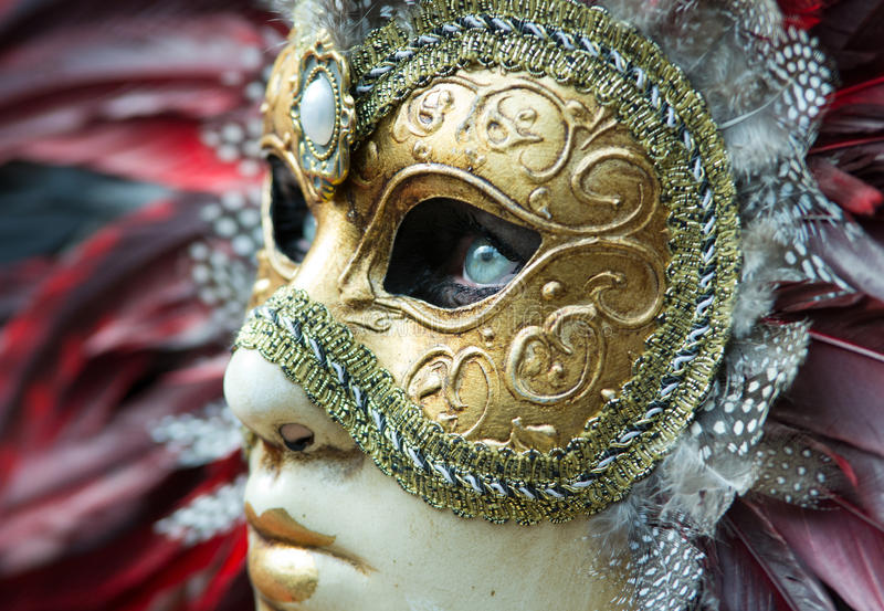 Download Carnival mask in Venice editorial photo. Image of dress - 38869371