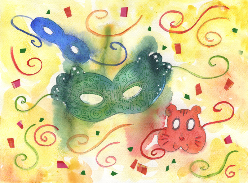 Download Carnival Masks Stock Photography - Image: 8123962