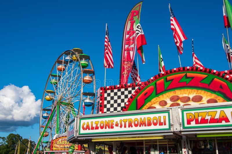 Carnival Midway royalty free stock images