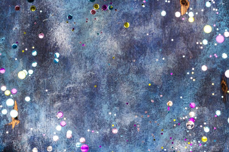 Carnival background with confetti royalty free stock images