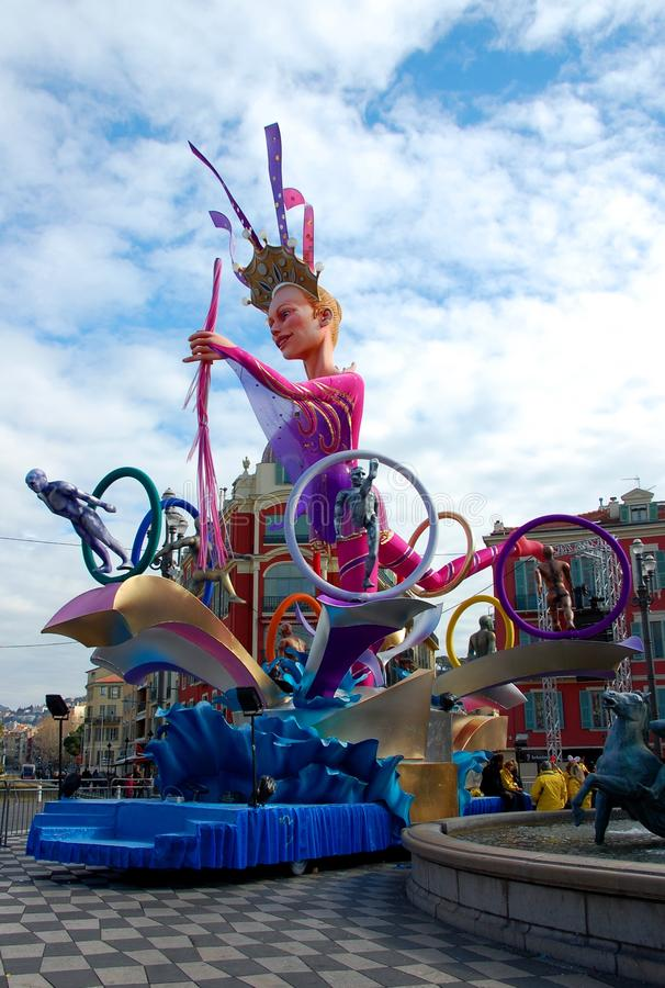 Download Carnival Of Nice On February 21, 2012, France Editorial Photography - Image: 23979337