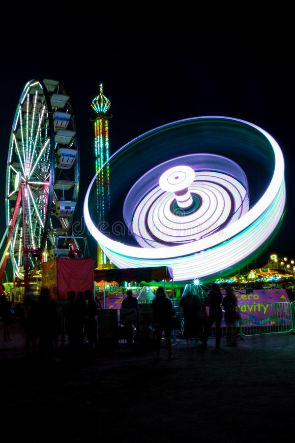 Carnival at Night royalty free stock images