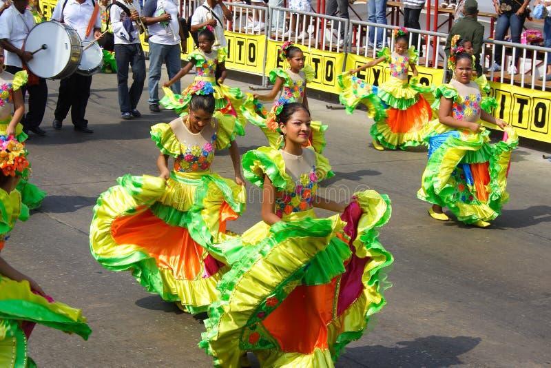 Carnival parade stock image