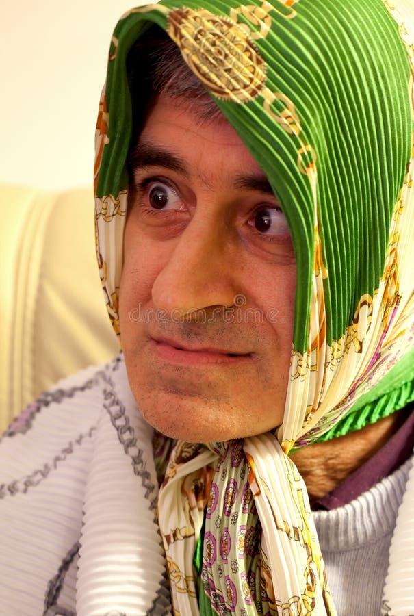 Download Carnival Portraits-Funny Man Masked Stock Image - Image: 17568765