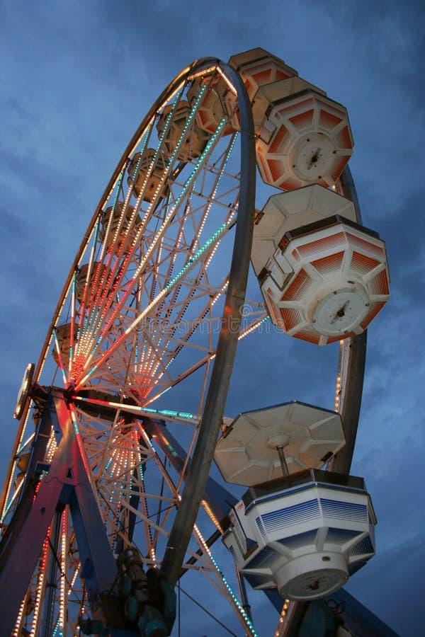 Free Carnival Ride At Dusk Royalty Free Stock Photo - 16893665