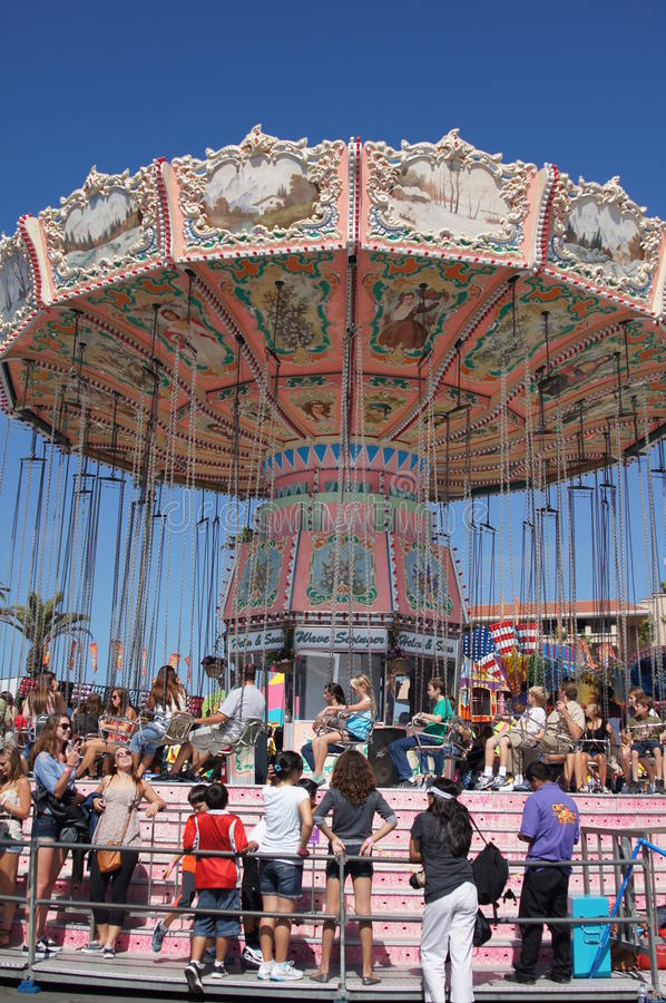 Download Carnival Ride From Neverland Ranch Editorial Photography - Image: 26818397