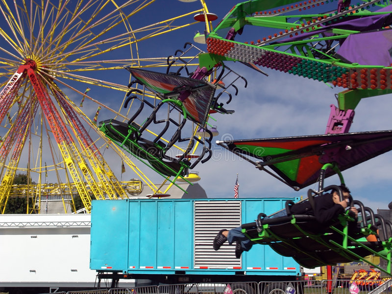 Download Carnival Ride One stock image. Image of adrenaline, park - 1713207