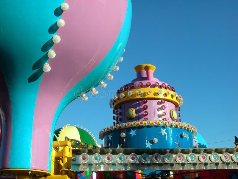 Carnival Rides stock image