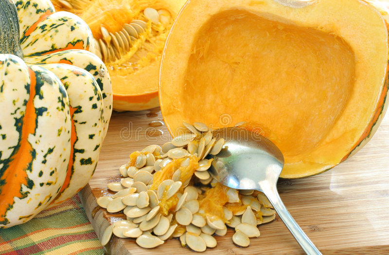 Carnival Squash stock images