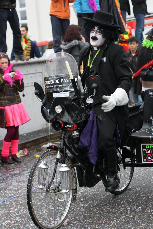Carnival street performers in Maastricht