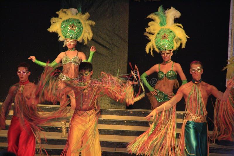 Carnival variety show royalty free stock photos