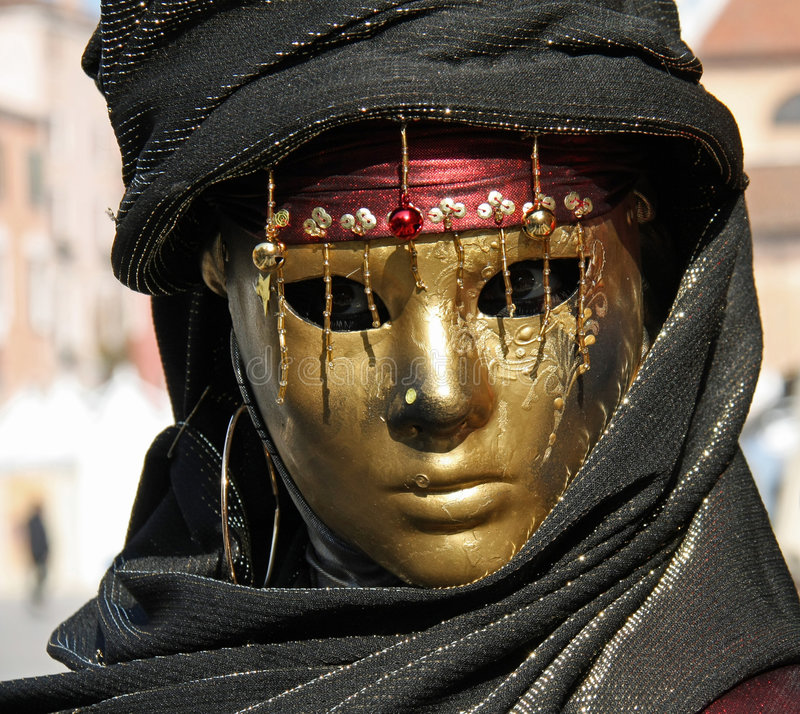Download Carnival of Venice 2009 stock image. Image of face, party - 8401671