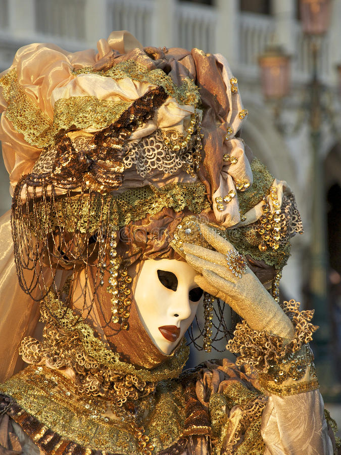 Carnival Venice royalty free stock image