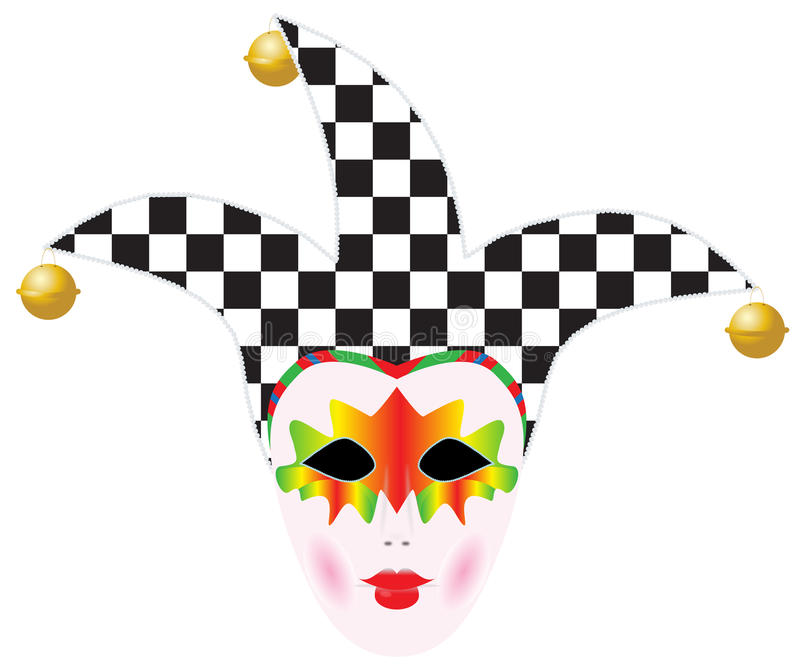 Carnival Venice mask royalty free illustration
