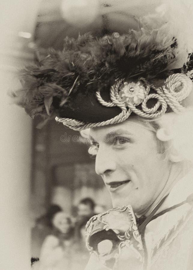 Carnival Venice, Mask stock photography