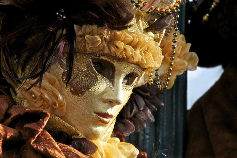Carnival Venice, Mask royalty free stock photos