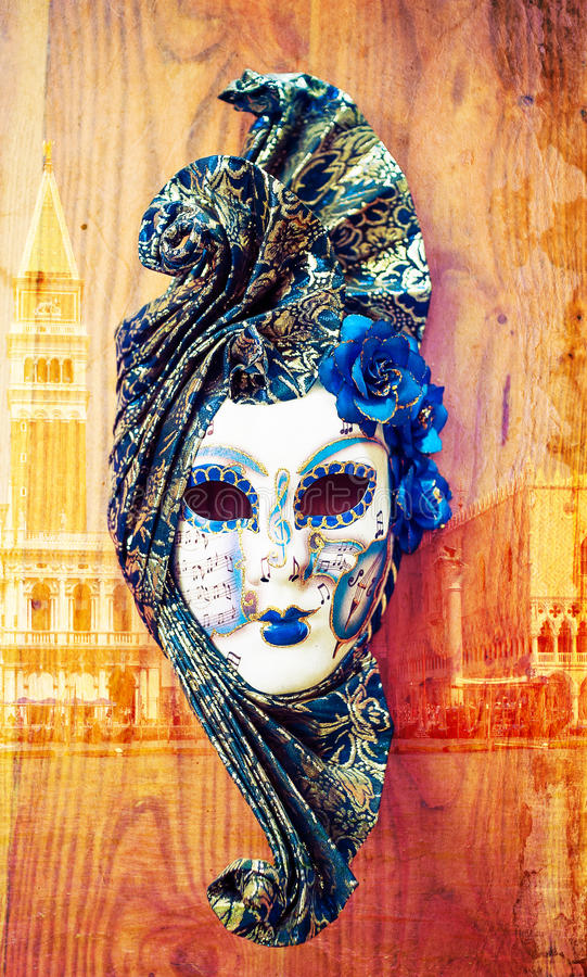 Download Carnival venice mask stock image. Image of background - 25722007