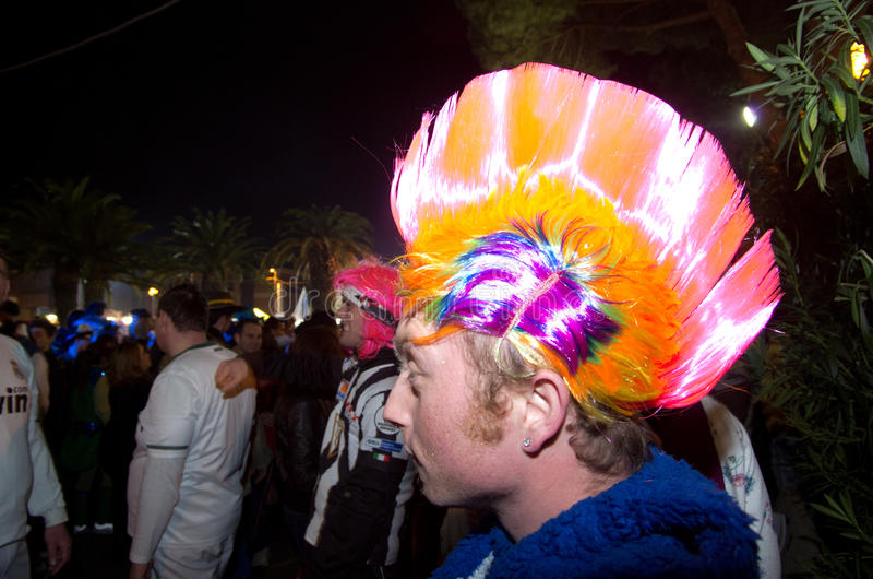 Download Carnival Of Viareggio 2011, Italy Editorial Image - Image: 18597690