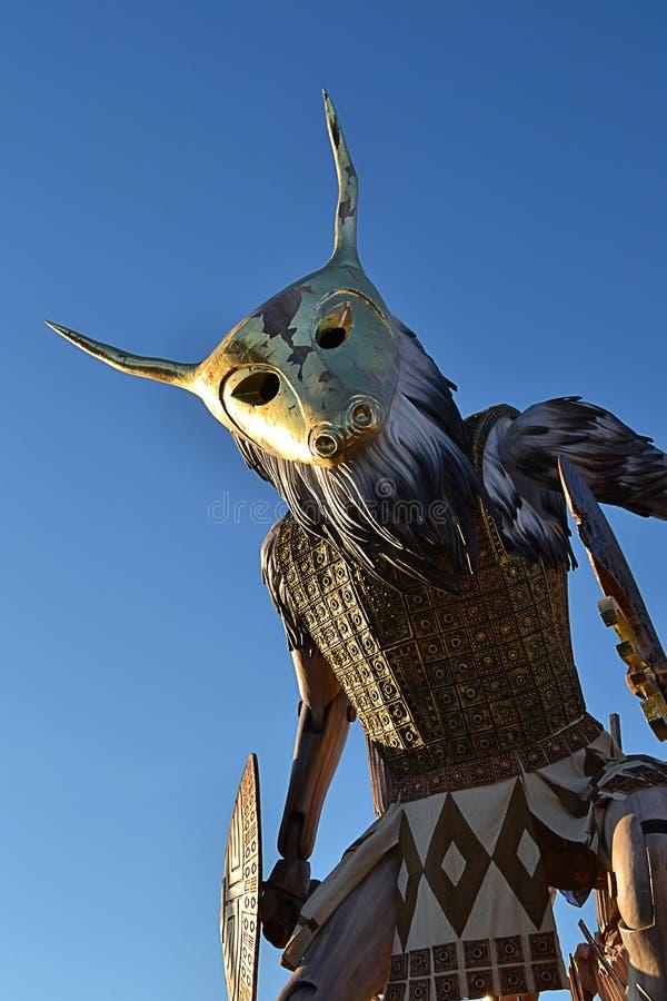 Carnival in Viareggio, royalty free stock image