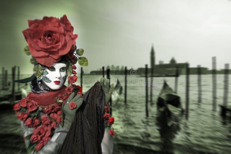 Carnival10 Venetian imagem de stock royalty free