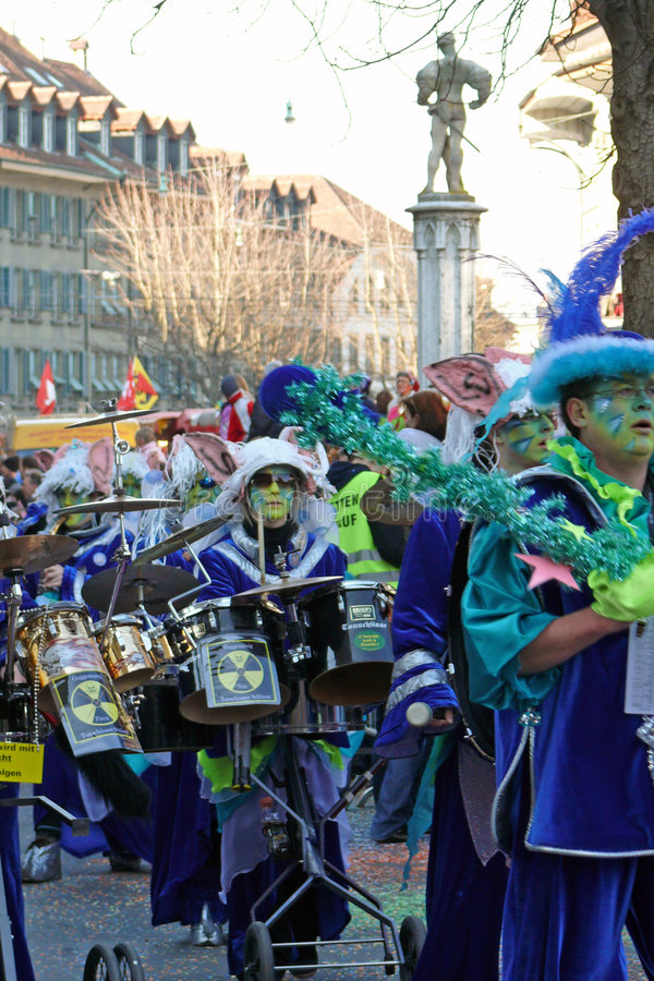 Carnivalsband imagens de stock royalty free