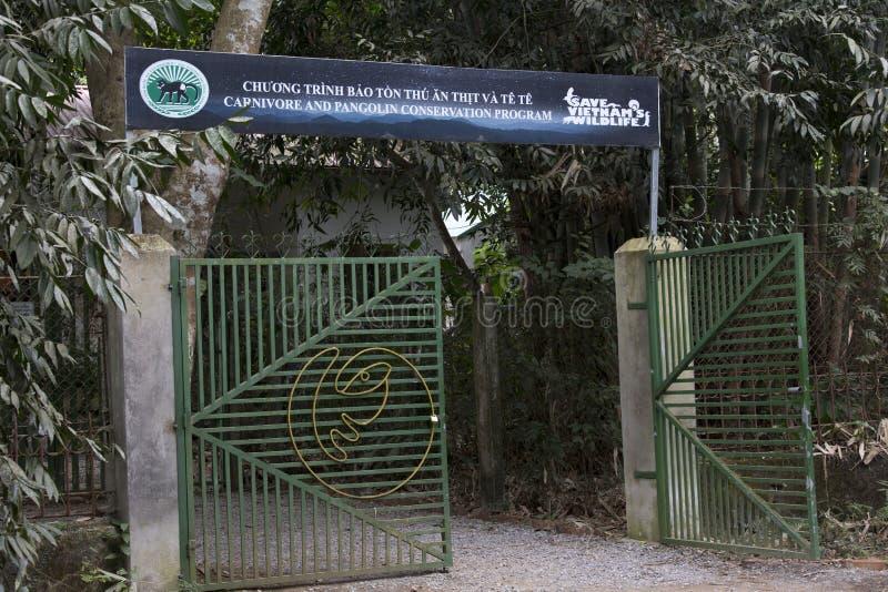 Carnivoor en pangolinbehoudscentrum royalty-vrije stock afbeeldingen