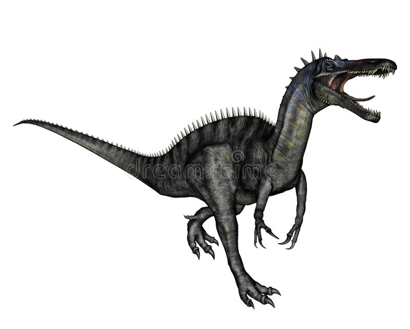 carnivorous dinosaur stock illustrationer
