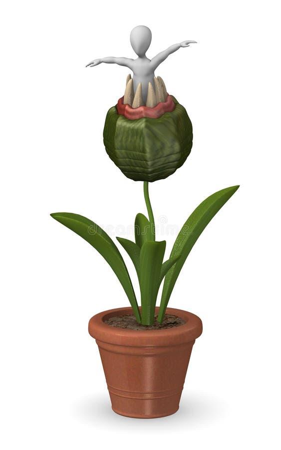 Download Carnivorous plant stock illustration. Illustration of male - 14547569
