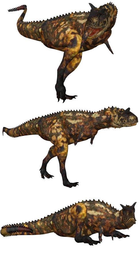 Carnotaurus 1 stock de ilustración