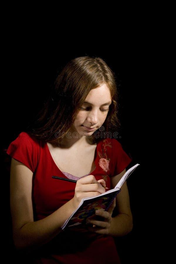 Caro Diary fotografia stock libera da diritti