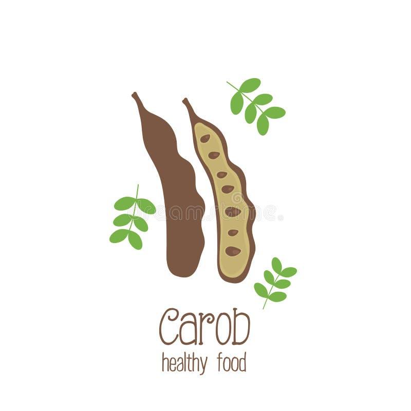 Free Carob Pods. Vector Illustration Royalty Free Stock Image - 52701256