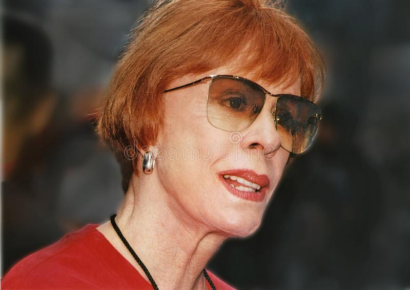 Carol Burnett foto de archivo