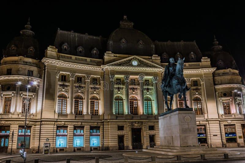 Carol Ja Uniwersytecka podstawa, Bucharest zdjęcie royalty free