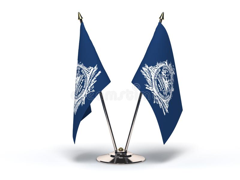 Carolina Charleston Flag sul ilustração do vetor