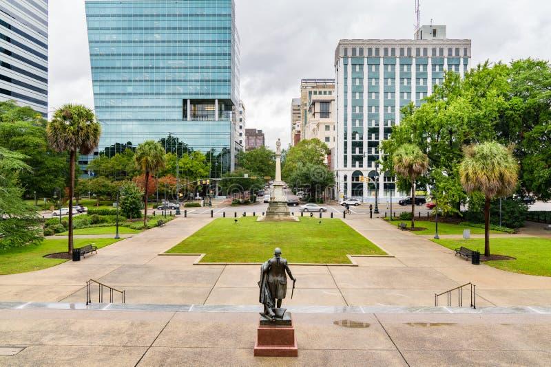 carolina Columbia śródmieścia południe zdjęcia stock