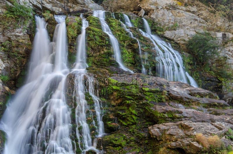 Carolina del Norte, cascada fotografía de archivo