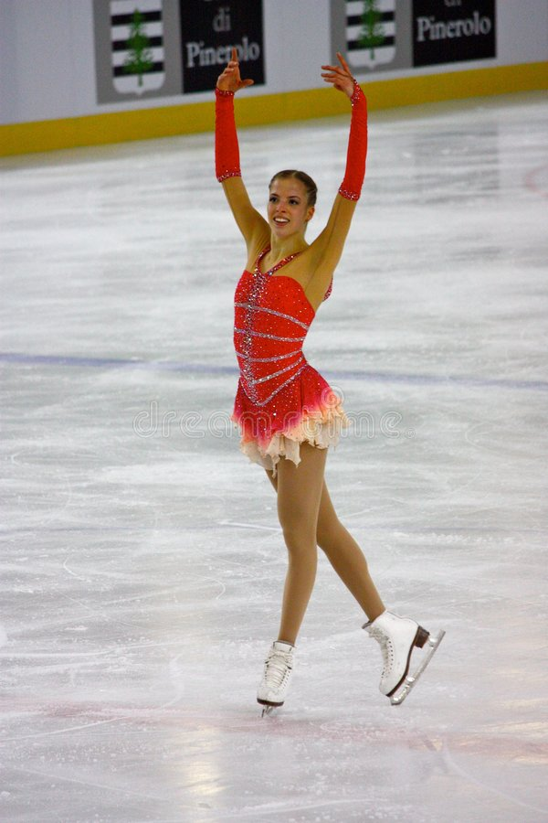 carolina kostner royaltyfria bilder