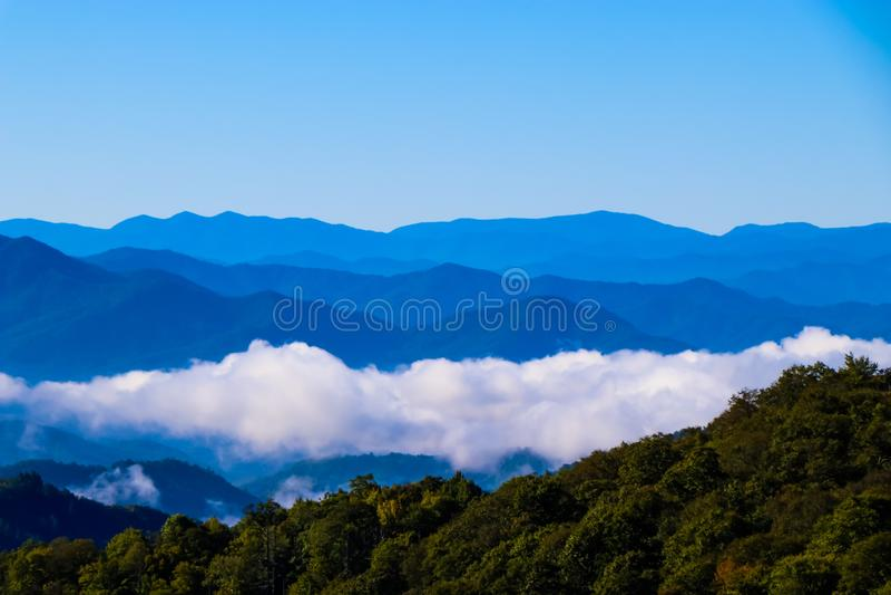 Carolina Mountains imagem de stock