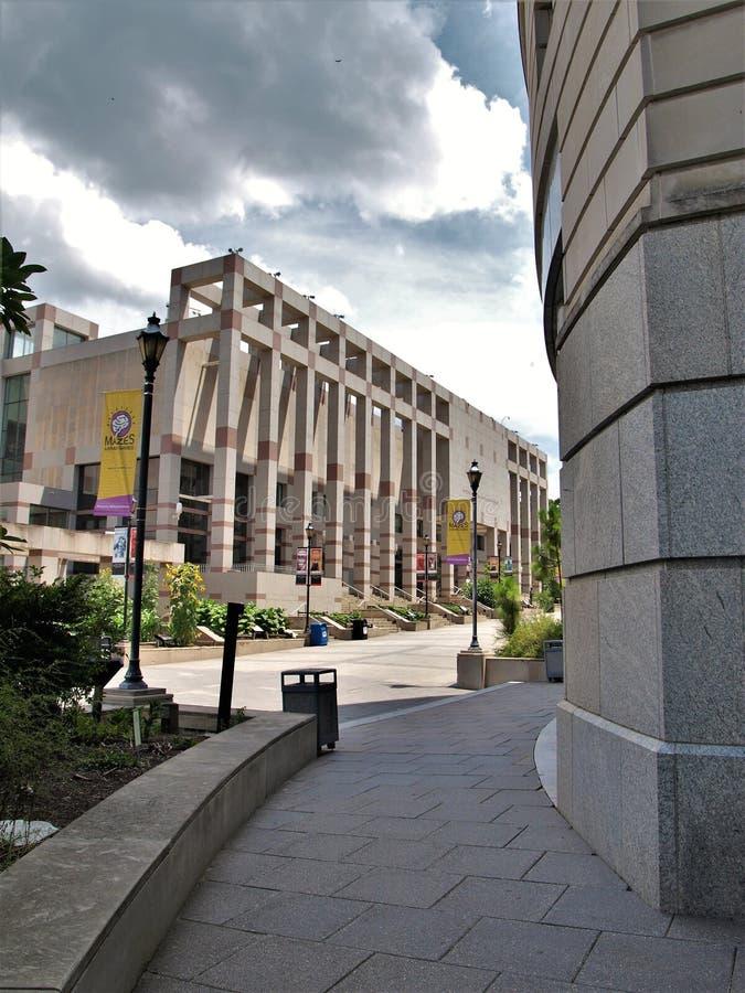 Carolina Museum del nord di storia immagini stock
