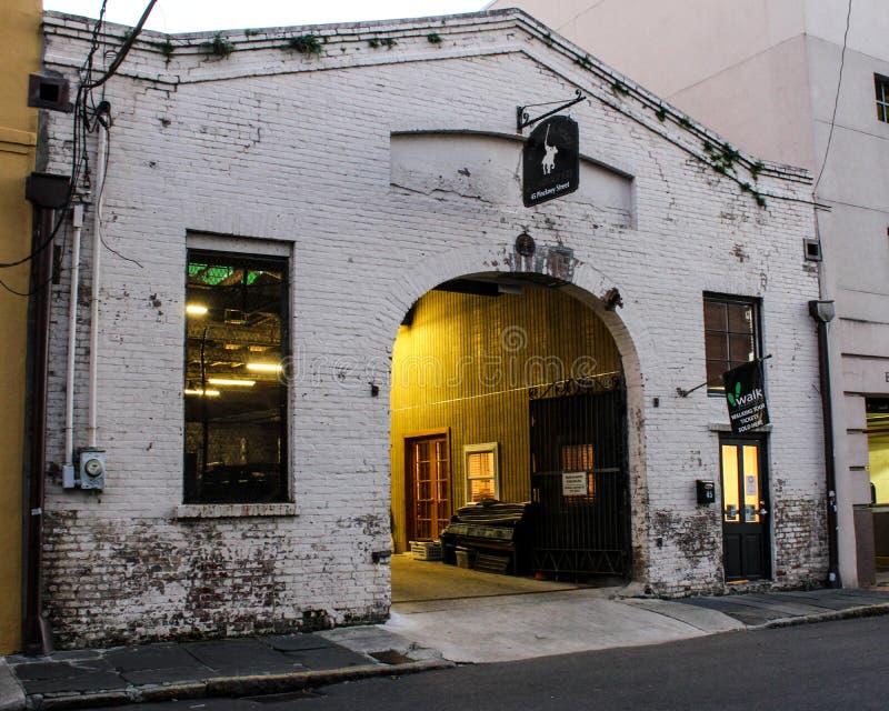 Carolina Polo und Fuhrunternehmen, Charleston, South Carolina lizenzfreie stockbilder