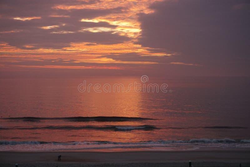 Carolina Sunset royalty free stock photos