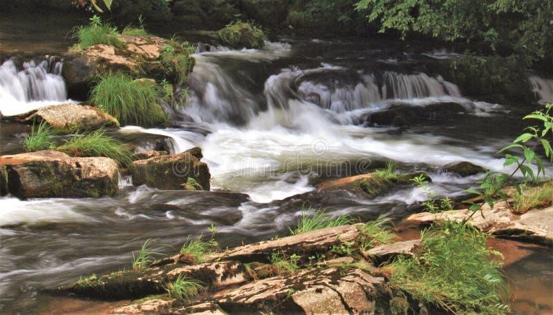Carolina Waterfalls du nord images stock