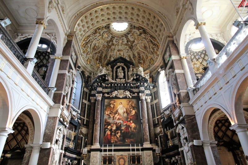 Carolius Borromeus kyrka arkivbilder