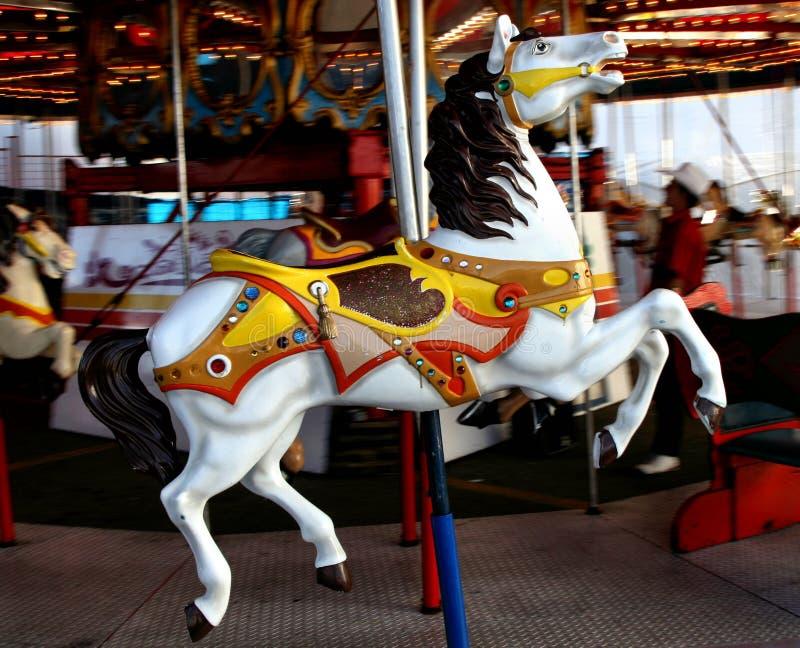 Carosello del cavallo fotografie stock
