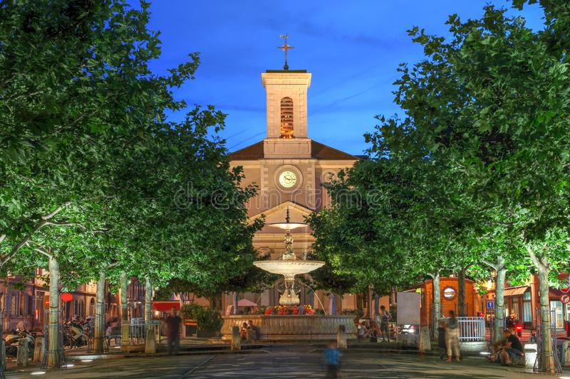 Carouge, Geneva, Switzerland stock images