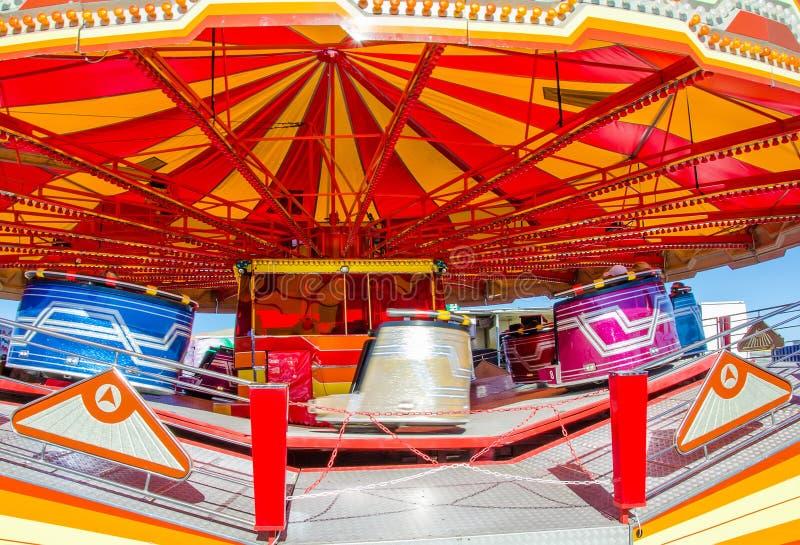 Carousel в движении стоковые изображения