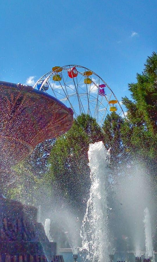 Carousel неба стоковое изображение rf